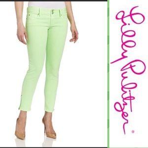 Lilly Pulitzer Skinny Mini Zip Jeans